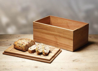 Drewniany chlebak