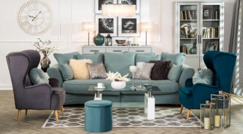 Salon w stylu glamour — akcesoria, które pokochasz!